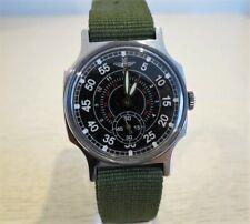 Pobeda ZIM PILOT Vintage Wristwatch USSR NEW Nato Strap  -  Serviced
