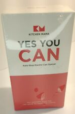 New listing Kitchen Mama Yes You Can Electric Can Opener Hands-free One-touch