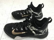 super popular 7f504 6f44b NIKE ZOOM HyperRev 2014 MEN S US SIZE 9.5 PAUL GEORGE PE BLACK GOLD  705370-071