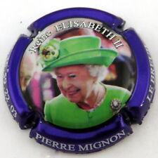 MIGNON  PIERRE N°123h Cuvée Reine Elisabeth II , Chapeau VERT , Ctr VIOLET Métal