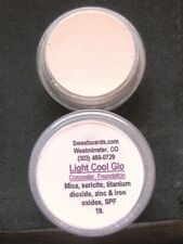 MINERAL MAKEUP~5g~JAR~SWEETSCENTS~LOOSE POWDER~MICA~FOUNDATION~VEGAN~LT COOL GLO