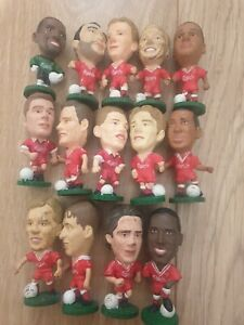 Liverpool FC X14 Corinthian Football Figures  some rare