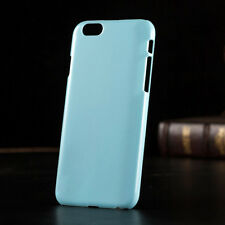 iPhone 6/6s Pastel/Candy Solid Coloured Slim Hard Back Case Cover   10 Colours
