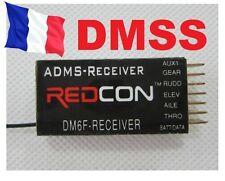 RECEPTEUR REDCON DM6F 2.4GHZ DMSS 6 VOIES modelisme  JR XG6 XG7 XG8 XG11