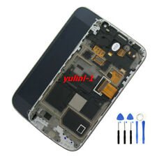 For Samsung Galaxy S4 Mini i9190 i9195 LCD Display Touch Screen Blue+Tools