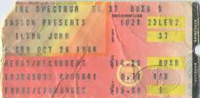 ELTON JOHN 1984 BREAKING HEARTS TOUR CONCERT TICKET STUB Philadelphia Spectrum
