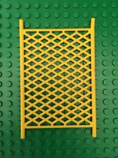 LEGO - 8x12 Stud Lattice Sports Plastic Net - Yellow - Fire Station 7208 (48294)