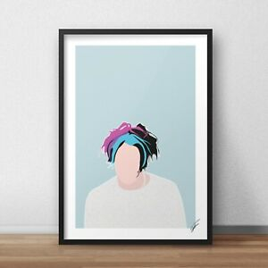 Yungblud INSPIRED WALL ART Print / Poster Minimal A4 A3 singer 21st 11 polygraph