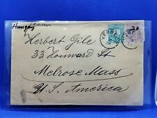 HUNGARY  1918  POSTAL  STATIONARY  COVER  WITH  3 Krajczar and 2 Krajczar STAMPS