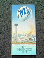 1989 Seattle Mariners  Media Guide Griffey (VG)