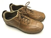 ROCKPORT DMX  Men's Size10 Wide Leather Lace Up Oxfords Loafer Casual Shoes