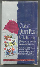 1991 CLASSIC 4 SPORT DRAFT PICKS FACTORY SEALED BOX  FARVE, FORSBERG ROOKIES
