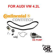 Continental Engine Timing Belt Kit w Water Pump Fits Audi VW 4.2L