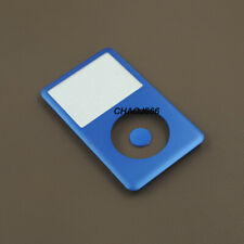 blue front faceplate housing case button for ipod 6th 7th classic 80gb 160gb