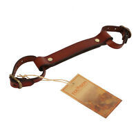 Tourbon Leather Bike  Lifter Portaging Tube Handle Frame Carrying Strap Cycling