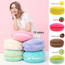 Creative Candy Color Macaron Shaped Plush Pillow Lovely Cushion Home Sofa Decor