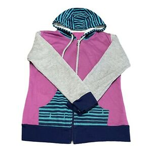 Zumba Wear Medium Womens Pink Zip Hoodie