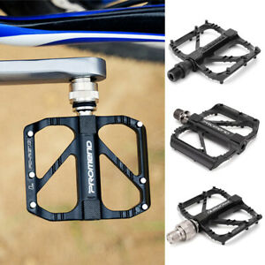1 Pair MTB Road Cycling Mountain Bike Flat Pedal Bicycle Aluminum model Pedal🔥