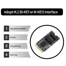 DIEWU TXA098 M.2 zu Gigabit Netzwerkkarte Desktop RJ45 Ethernet Konverterkarte