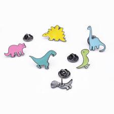 5pcs/Set Cartoon Dinosaur Animal Brooches Pin DIY Badge Kids Gift Lovely Jewelry