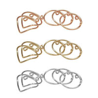 5Pcs/Set Women Simple Chic Above Knuckle Finger Ring Band Charm Midi Rings MP