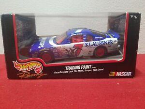 NASCAR Diecast Hot Wheels Waltrip Trading Paint Phillips Klaussner #7 Car 1/24