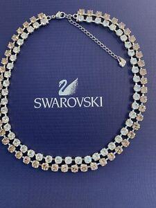 🎄🎁 SWAROVSKI VINTAGE ROSE NECKLACE 1179713