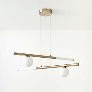 West Elm Balance Chandelier, Light Bronze