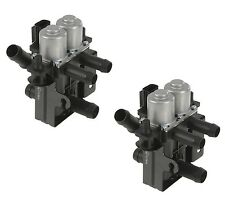 NEW 2000-2002 JAGUAR S-Type Set of 2 Heater Control Water Valves NEW XR8 22975
