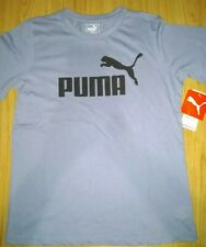 Boys puma Logo T Shirt Age 8 Size S New Without Tags