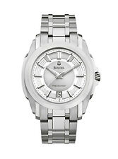 Bulova Precisionist Longwood Men's 96B130 Quartz Silver Tone Bracelet 42mm Watch