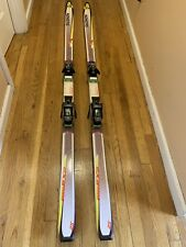 Salomon X9 Monocoque Purple Skis WIth  977 Drivers W Cover Poles And Bag