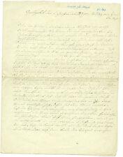 Historsiche Handschrift 1854 Leichenrede Judith geb. Seeger Neuenstadt?