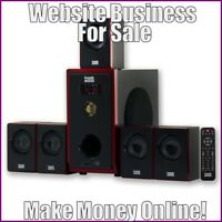 SPEAKER SYSTEMS Website Earn $90.51 A SALE|FREE Domain|FREE Hosting|FREE Traffic