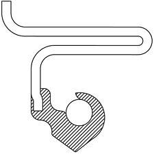 Auto Trans Torque Converter Seal National 4072N