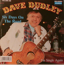 "DAVE DUDLEY - SIX DAYS ON THE ROAD - I'M SINGEL NOUVEAU-COOK REC 7""SINGLES(E910)"