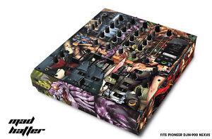 Skin Decal Wrap for PIONEER DJM-900 DJ Mixer CD Pro Audio DJM900 Parts - HATTER