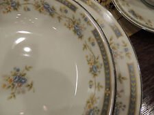 Barclay Four Crown Japanese China service for twelve (12) pattern#519 White/Blue