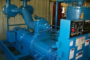 Quincy QSI 1500 300 hp.  Rotary Screw Air compressor, Warranty Variable capacity