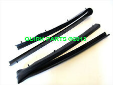 Ford F250 F350 F450 F550 & Excursion Front Doors Lower Weatherstrips Set OEM NEW
