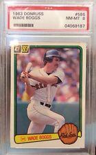 1983 Donruss Wade Boggs Boston Red Sox #586 Baseball Card
