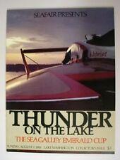 mint 1983 SEATTLE SEAFAIR unlimited hydroplane race program unused