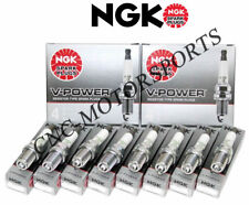 R5673-9 NGK Racing Spark Plugs 14 mm Thread 0.441 in Reach Tapered Seat 8 PAK