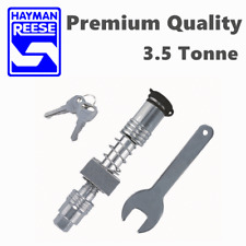 HAYMAN REESE ANTI RATTLE HITCH PIN LOCK BALL MOUNT TONGUE TOW BAR TRAILER CAMPER