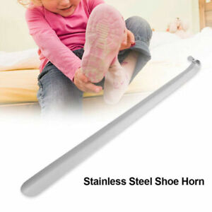 16/30/42/52cm Metal Shoe Horn Heavy Duty Stainless Steel Long Handle Shoehorn