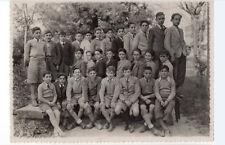 FOTOGRAFIA ANTIGUA NITIDA, GRUPO DE CHICOS, ALUMNOS VITORIA CURSO 1943 1944 3º