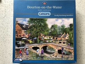 "Gibsons ""Bourton-on-the-Water"" 1000 pc Jigsaw Puzzle by Terry Harrison"