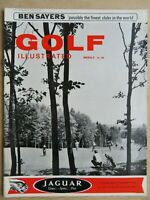 Blumisberg Golf Club in Berne Switzerland Golf Illustrated Magazine 1967