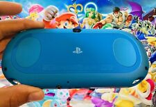 Aqua Blue Sony PlayStation PS Vita Slim PCH-2000 PSV Portable Console + Charger
