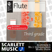 AMEB Flute Series 3 - Grade 3 ( Three / Third ) Recorded Accompaniments CD *NEW*